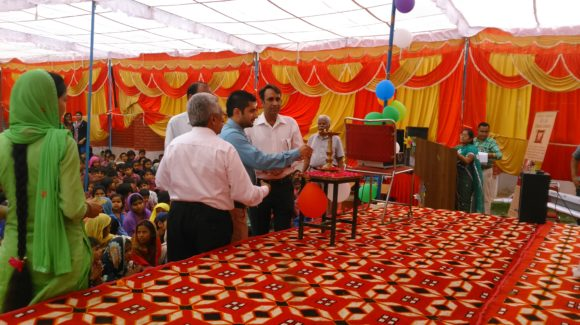 Dr. Arnab Sengupta at deepalaya schoolannual celebration day