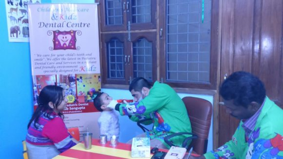 Dr. Arnab, a pediatric dentist in Gurgaon