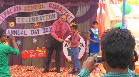 Deepalaya School Celebrating Annual Day