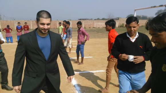 Dr. Arnab Sengupta at Deepalaya School Sports day