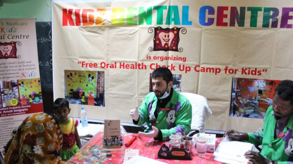 Kidz Dental Centre organized free kids oral health check up