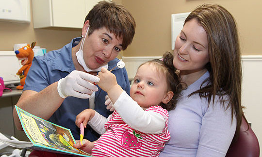 First Dental Visit of a Child