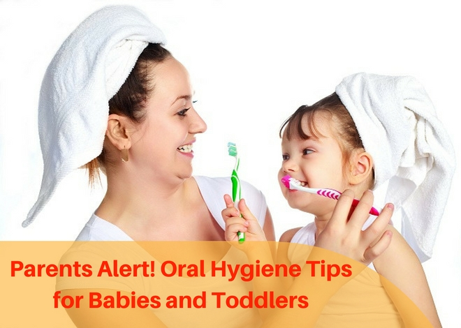 Oral hygiene tips for babies