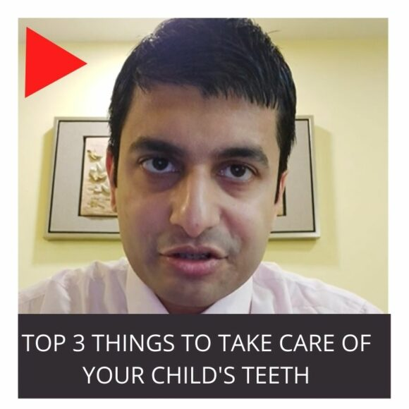 Top 3 things to take care of your child's teeth